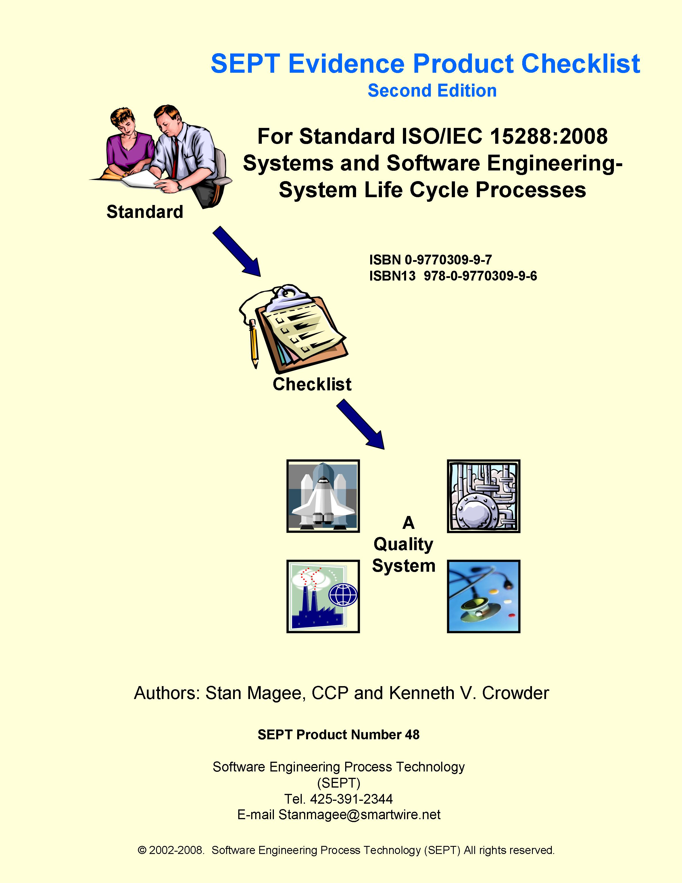 complete evidence checklist of iec 62304