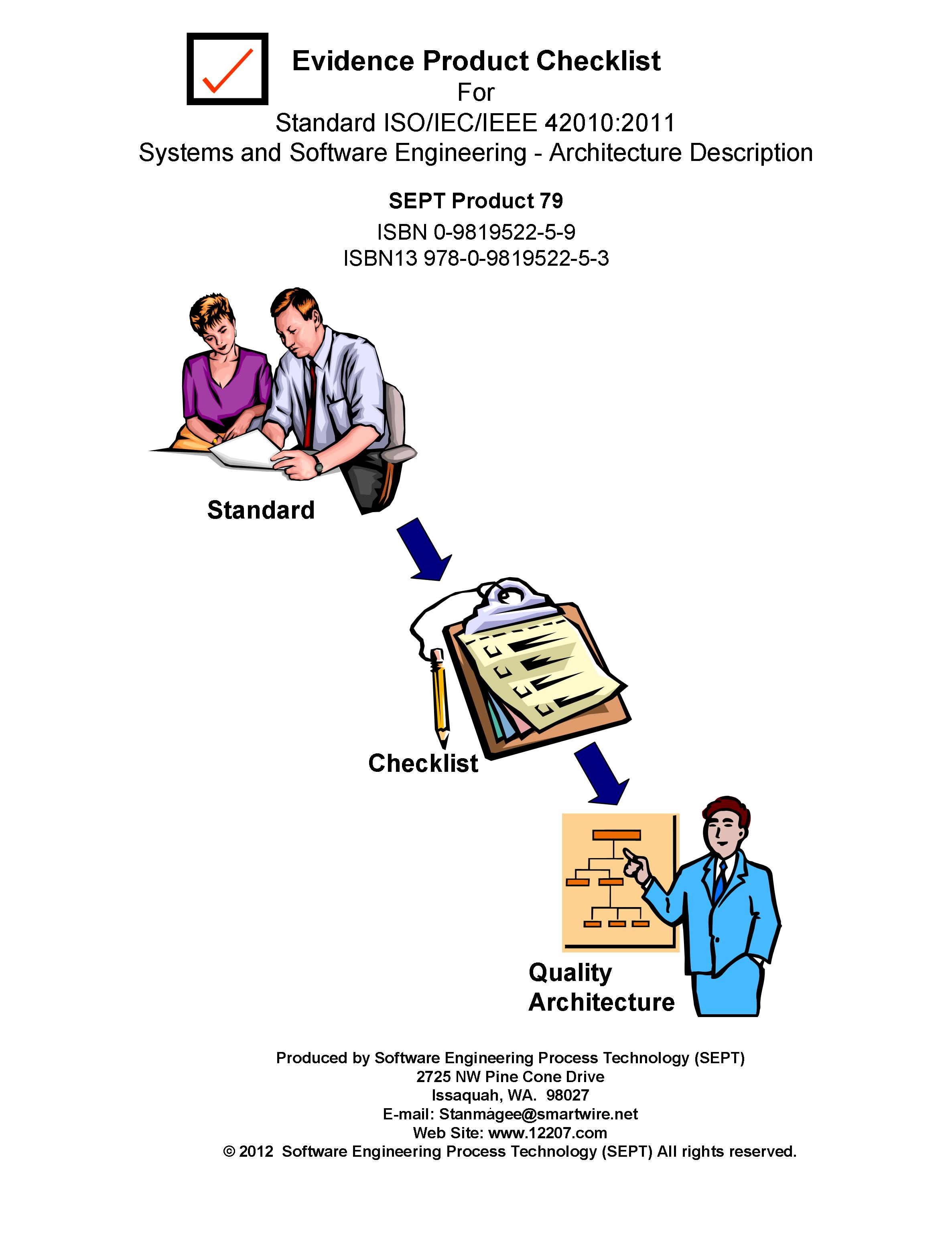 Checklists For Software Engineering Standards And Software